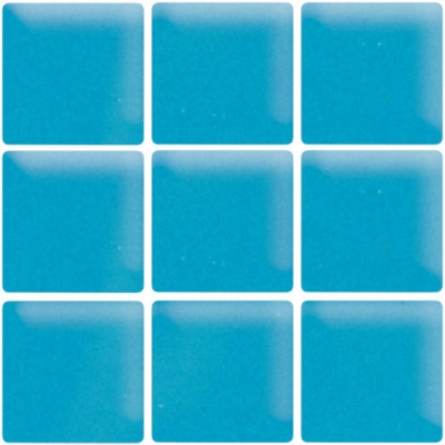 Turquoise Dream Glossy Glass Mosaic Tile