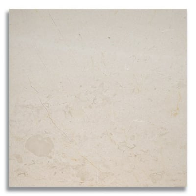 "12"" x 12"" Bursa Beige (Polished) Marble Tile - AKDO"