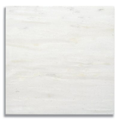 "12"" x 12"" White Haze (Honed) Marble Tile - AKDO"