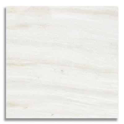 "12"" x 12"" White Haze (Polished) Marble Tile - AKDO"