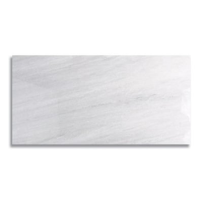 "12"" x 24"" Ash Gray (Polished) Marble Tile - AKDO"