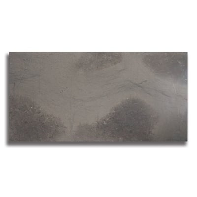 "12"" x 24"" Foussana Gray (Honed) Limestone Tile - AKDO"