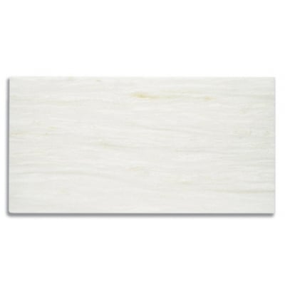 "12"" x 24"" White Haze (Honed) Marble Tile - AKDO"