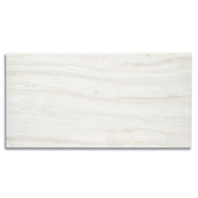"12"" x 24"" White Haze (Polished) Marble Tile - AKDO"