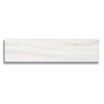"2"" x 8""  White Haze (Polished) Marble Tile - AKDO"
