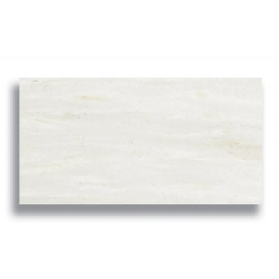 "3"" x 6"" White Haze (Honed) Marble Tile - AKDO"