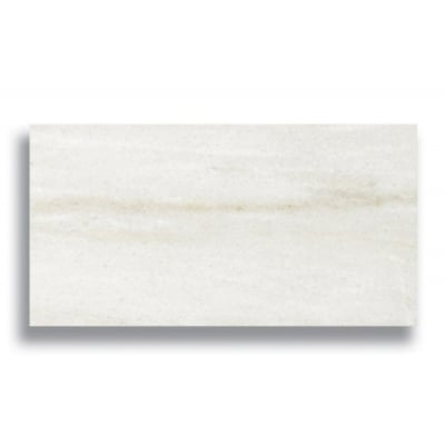 "3"" x 6"" White Haze (Polished) Marble Tile - AKDO"