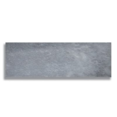 "4"" x 12"" Turkish Gray (Honed) Marble Tile - AKDO"