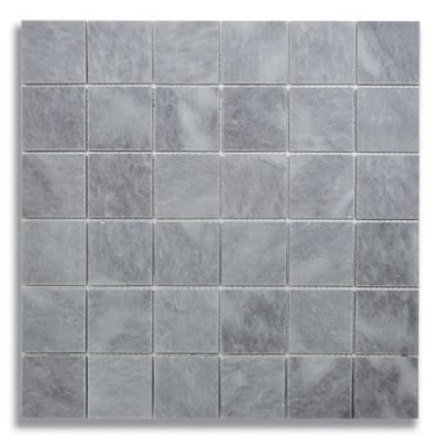 "2"" x 2"" Turkish Gray (Honed) Marble Mosaic Tile - AKDO"