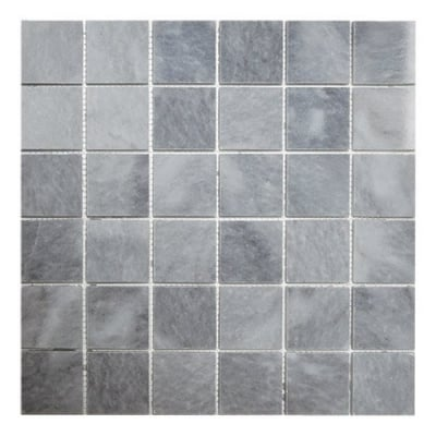 "2"" x 2"" Turkish Gray (Polished) Marble Mosaic Tile - AKDO"