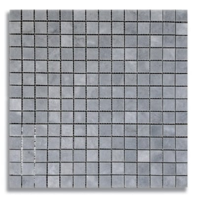 "3/4"" x 3/4"" Turkish Gray (Honed) Marble Mosaic Tile - AKDO"