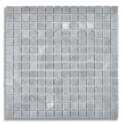 3/4 x 3/4 Turkish Gray (Polished) Marble Mosaic Tile - AKDO