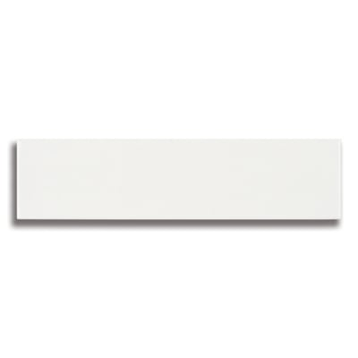 "10 1/2"" x 2 1/2"" Origin Birch White (Glossy) Ceramic Tile - AKDO"