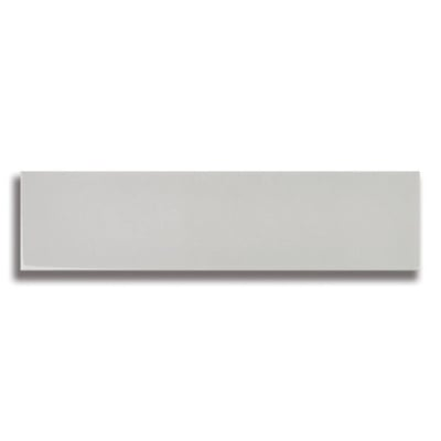 "10 1/2"" x 2 1/2"" Origin Misty Gray (Glossy) Ceramic Tile - AKDO"