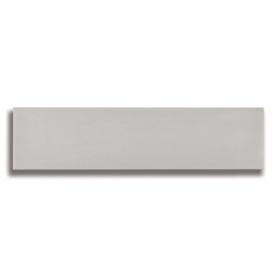"10 1/2"" x 2 1/2"" Origin Misty Gray (Matte) Ceramic Tile - AKDO"