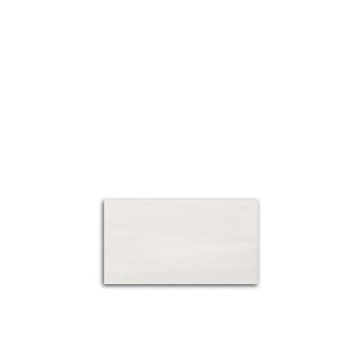 "12"" x 22"" Mark Wall White Ceramic Tile - AKDO"