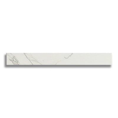 "Battiscopa 2 7/8"" x 24"" Marvel Calacatta (Matte) - AKDO"