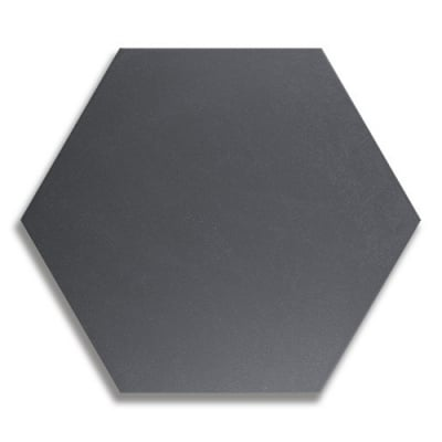 Hexagon Heritage Black Porcelain Tile - AKDO