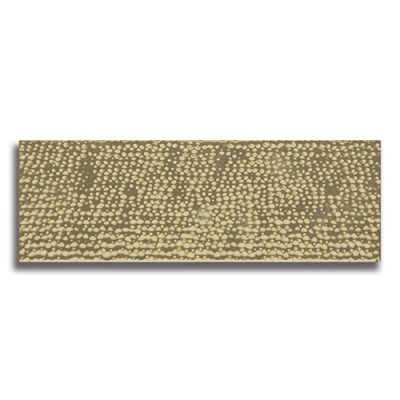 "Impressions Hammered Gold 4"" x 12"" Ceramic Tile - AKDO"