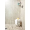 34 x 34 Taupe Blend Polished Marble Mosaic Tile - AKDO