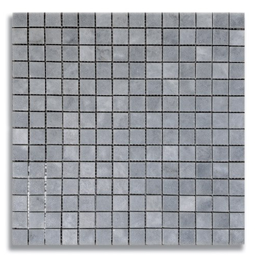 34 x 34 Turkish Gray Honed Marble Mosaic Tile - AKDO
