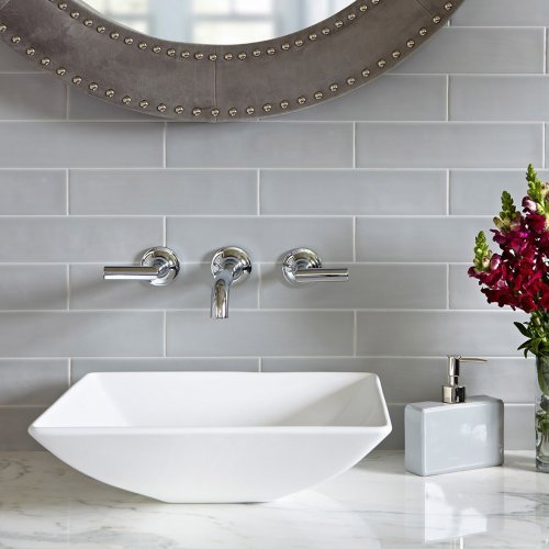 Origin Misty Gray Subway Tile