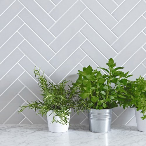 Spring Rain Subway Tile