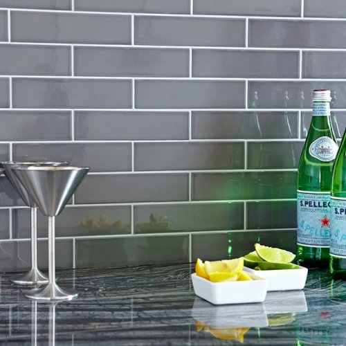 Storm Gray Subway Tile